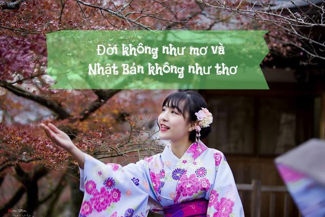 Đời không như mơ và Nhật Bản không như thơ