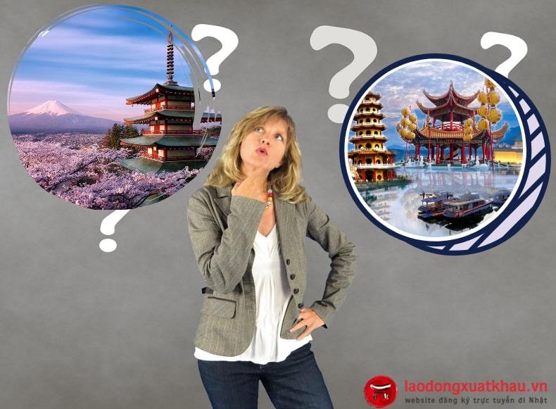 Phụ nữ nên đi xuất khẩu lao động Đài Loan hay Nhật Bản