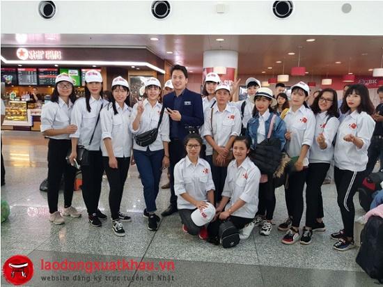 VietHR cam kết  trúng tuyển 100% xuất khẩu lao động Nhật Bản