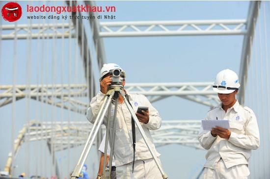 Kỹ sư trắc địa làm việc tại Nhật Bản lương 210.000 Yên/tháng