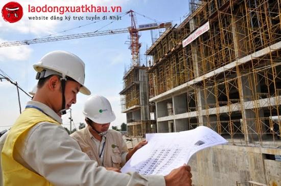 Tuyển kỹ sư giám sát xây dựng lương 2 triệu/ngày làm việc tại Nhật Bản