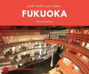 Fukuoka Nhật bản  – Miền đất hứa của thực tập sinh Việt nam