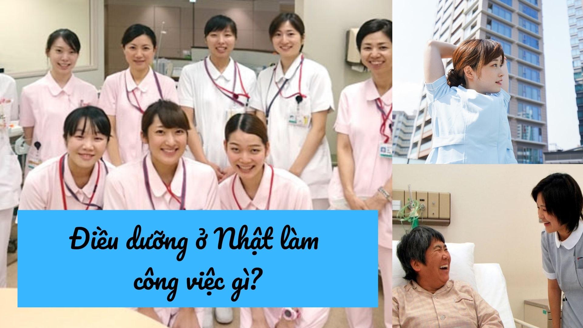Điều dưỡng ở Nhật làm công việc gì? Có vất vả, bận rộn không?
