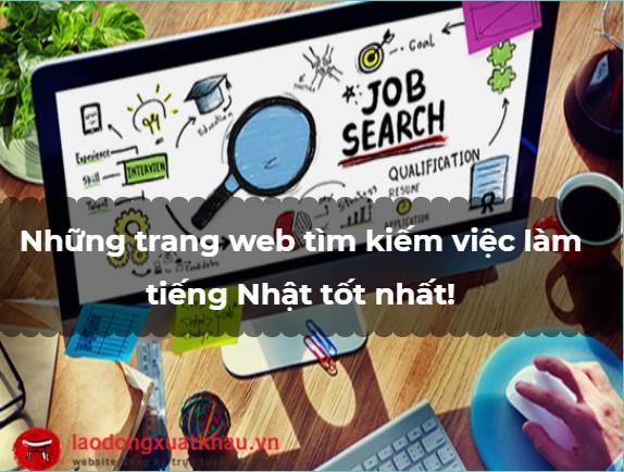 Tổng hợp những trang web tìm kiếm việc làm tiếng Nhật đơn giản nhất!