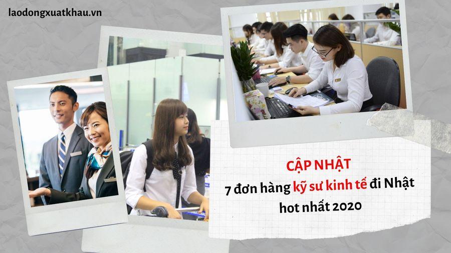 7 đơn hàng kỹ sư kinh tế HOT NHẤT năm 2020 dành cho cử nhân kinh tế