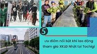 5 ưu điểm nổi bật khi lao động tham gia XKLĐ Nhật tại Tochigi