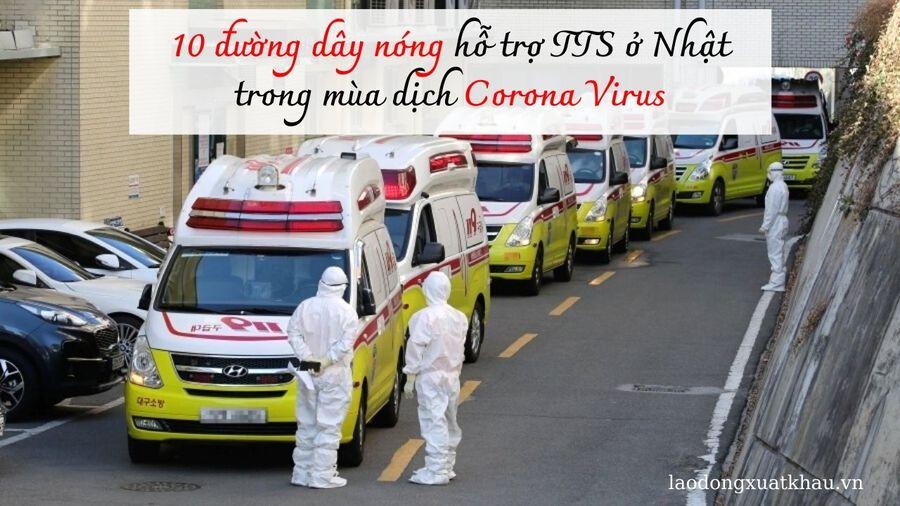 10 đường dây nóng hỗ trợ TTS ở Nhật trong mùa dịch Corona Virus